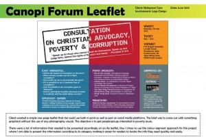 Canopi Forum Leaflet