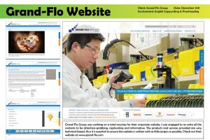 Grand-Flo Corporate Website