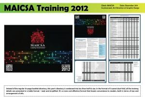 MAICSA Training 2012