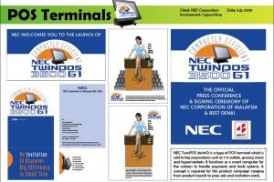 NEC POS Terminal