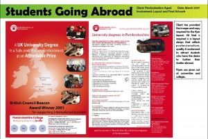 Pembrokeshire College Flyer
