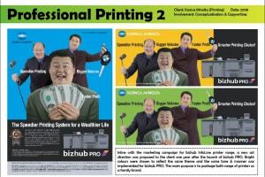 bizhub PRO series - Press Ads